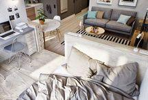 Petit espace / Aménagement et astuces pour améliorer son confort