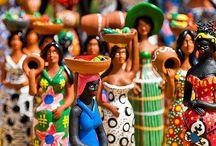 Cultura Brasileira / Brazilian Culture / Carnaval, Congo, Frevo, Artesanatos, Samba, Capoeira, Maracatu, Folia de Reis, Forró, Bumba Meu Boi, Baião, Quadrilha