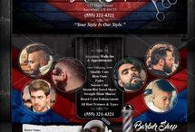 Redes sociais Barbearia