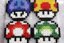 Toad strijkkralen patronen