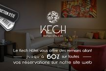 Promotion hôtel à Marrakech / Promotions et deals du Kech Boutique Hôtel et SPA de Marrakech