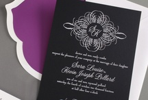 Wedding: Black & White / by William Arthur Fine Stationery