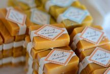 Soap Wedding Favours / Senia Soap made this special wedding favours for a wonderful Autumn wedding.