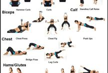 Body work-out oefeningen / gym-oefeningen