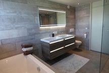 Sanidrõme van Lieshout: Voorbeeld 3 gerealiseerde badkamer / Sanidrome van Lieshout uit Veghel toont graag de door hen gerealiseerde badkamers.