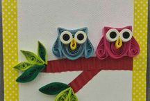 Quilled Magnets