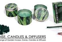 Garden Incense, Candles & Diffusers / Garden Incense, Candles and Diffucers - Keep Insects At Bay