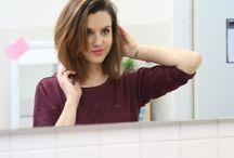 Frisuren und Farbe
