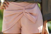shortes e calças