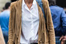 FRANGES À GOGO / Et si on osait les vêtements à franges ? Vestes, cabas, écharpes, robes, le printemps sera à franges cette année ! / by Trucs De Nana