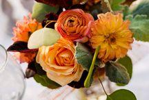 Rust Orange Fall Wedding Flowers / Rust Orange Fall Wedding Flowers