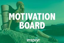 Motivation Board /  In need of some inspiration? Check out this board for inspirational quotes, tips and ideas to get and keep you motivated!
