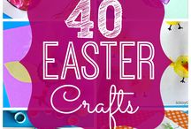 Easter Food, Desserts and Crafts