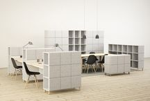 Office layouts and furniture