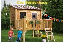 Zahradní domečky pro děti