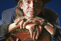 Stevie Ray Vaughan/Artworks By Others