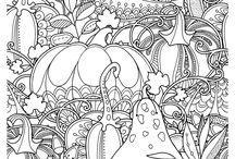 őszi színező