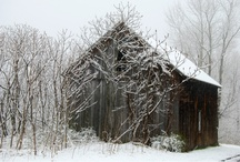Old barns / by Kristen Anderson