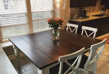 Baluster Turned Leg Table / Our beautiful Baluster Table features chunky turned legs and can be customized for your space!