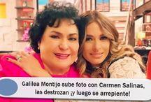 Galilea Montijo sube foto con Carmen Salinas, las destrozan ¡y luego se arrepiente!