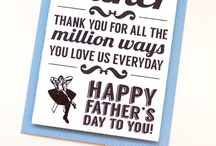 Father's Day Cards / Did you forget to get dad a Father's Day Card?  We pinned some cute printable ones just in case you forgot!
