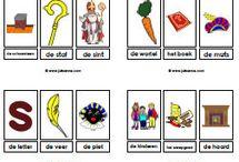 Onderwijs thema Sint kleuters
