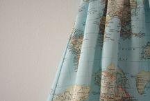 Maps and fashion