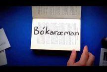 Bókaræman / Bókaræman er örmyndakeppni um bækur fyrir 13-20 ára.