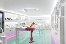 Bread and pastry shops concepts
