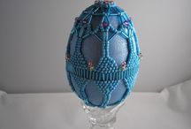 Divine Decorated Eggs / I love decorated eggs...wish I could have a real Faberge egg!