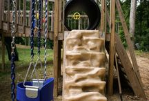 Backyard kids ideas / Backyard play ideas, obstacle courses, sidewalk activities, gross motor and outdoor fun