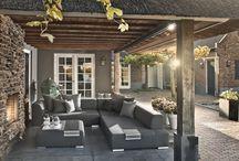 Lounge tuin