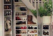 Staircase storage uses