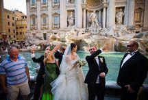 Hochzeit Rom - church wedding in Rome Italy