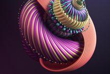 3D / Réalisation d'images de synthèse dans différents domaines.