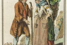 Historische Kleidung, bäuerlich und bürgerlich
