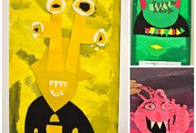 Colour monster book emotions