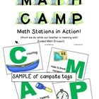 Let's go to Camp!  Math Camp / MATH CAMP is an easy, efficient way to organize your independent work stations (we call them CampSites).  Once students learn the routine and expectations, you get to spend time, wait for it...  TEACHING!