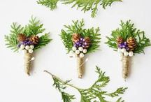 Winter Wedding Ideas / For Nature Inspired Woodland Winter Wedding Ideas the house of cones features beautiful pine cone wedding accents. Pine Cones are fun, affordable and easy to add to your them. Their rustic style lends a touch of nature to your wedding theme.