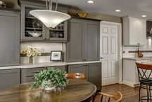 OnTrend Neutrals in Kitchen Design / by CliqStudios Cabinets