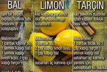 limon ve balın faydaları