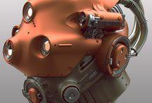 Robot Head / Helmet