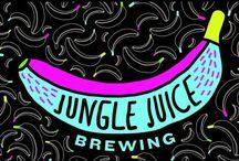 Jungle Juice Brewing / Dopo qualche anno trascorso in sperimentazioni casalinghe e contatti intensi col settore della birra artigianale, Jungle Juice Brewing esordisce nel 2014 come birrificio liquido itinerante.  Sue la saison Jellyfish e la IPA Baba Yaga che trovate su: http://www.excantia.com/produttori/jungle-juice-brewing