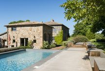 Restored Umbrian farm house / Stone and tufo rental property with swimming pool completely restored