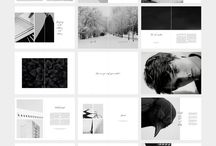 FORK Photography Portofolio #layout #indesign #photography #creativemarket