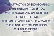 My winter passion / Snowboarding