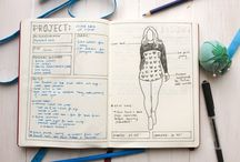 Sewing Bullet Journal Inspiration