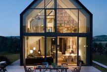 exterior house glass