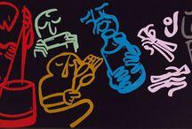 Jug Band / Jug Band art / by Pollux (Paul Morris)