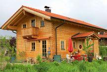 Vierkant Blockhaus